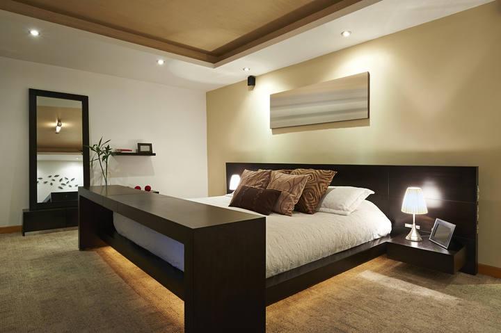 Logr un dormitorio relajante a - Cual es el color ocre ...