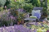 Un jardín lleno de romanticismo y nostalgia