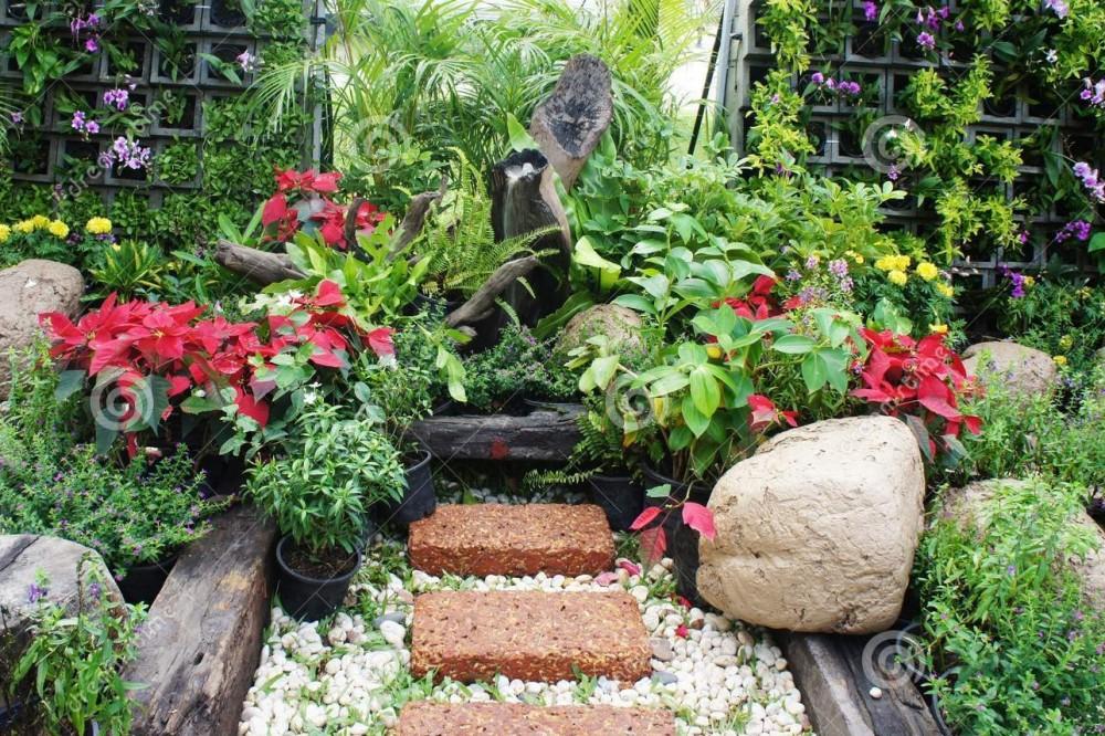 Jardines peque os - Jardines exteriores pequenos ...