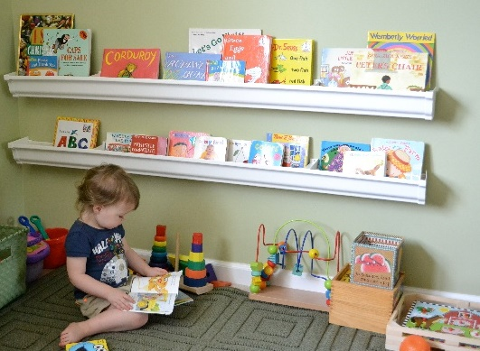 Una habitaci n montessori for Cuartos montessori para ninas