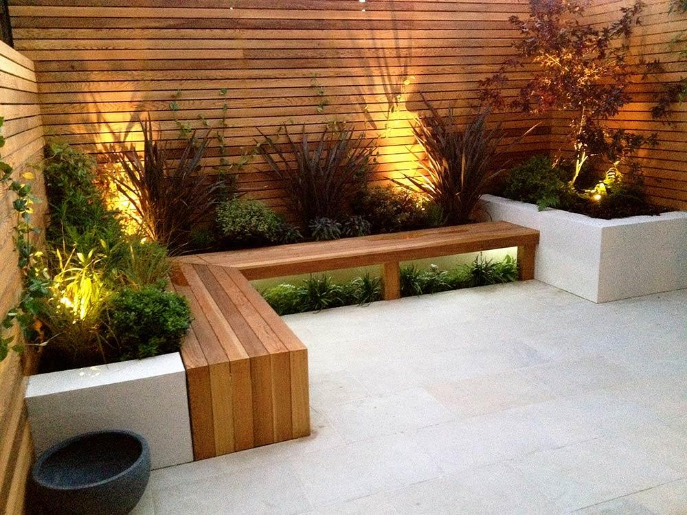 Un Jardin Minimalista Facildecoracioncom - Jardin-minimalista