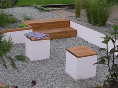 Un jard n minimalista - Paisajismo minimalista ...