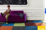 Espacios personalizados con alfombras modulares