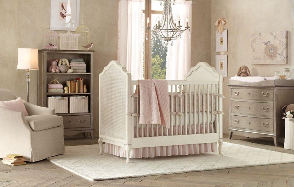 16 Adorable Ba Girl39s Nursery Ideas Rilane We Aspire To Inspire regarding Baby Nursery pastel for Dream - Design Decor
