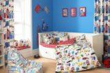 Textiles en el dormitorio infantil