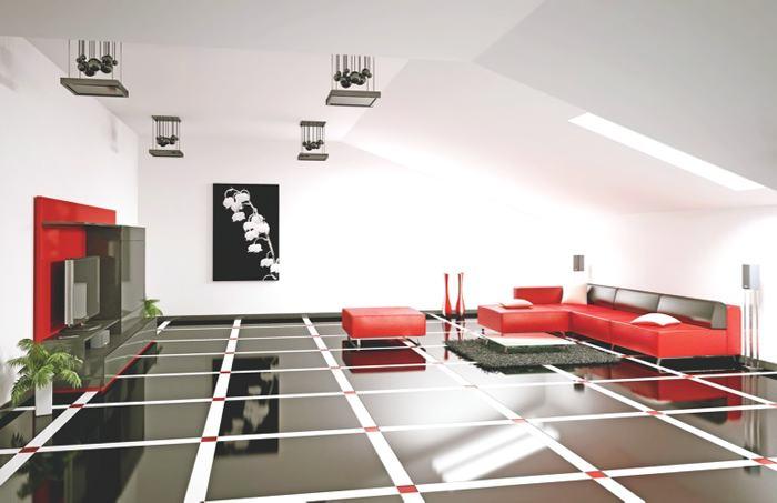 Espaciosamplios for Pisos blancos minimalistas