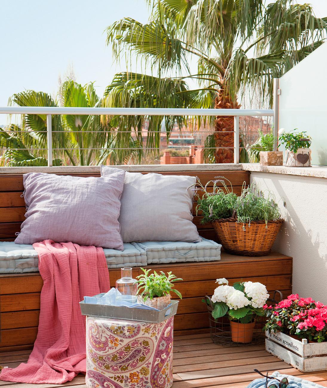 Mini terrazas - Muebles para terraza pequena ...